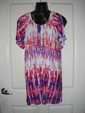 "AUTOGRAPH TIE DYED ""MULTI COLOUR"" TUNIC SZ 20-NEW AUTOGRAPH NEW STOCK JUST IN!!"