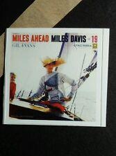MILES DAVIS MILES AHEAD GIL EVANS  Boat  COVER ART SMALL MUSIC STICKER