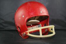 Original Vtg 1974 Riddell Style Suspension Football Helmet Game Used Worn 2-Bar