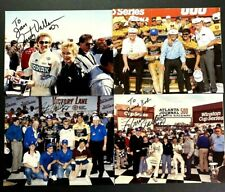 Vintage 🔥 NASCAR Rusty Wallace Signed 8 X 10 Photos! 4 Photos Total!