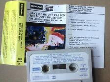 THE MOODY BLUES - DAYS OF FUTURE PASSED - DERAM CASSETTE 1967