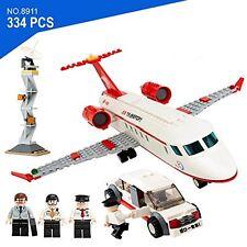 GUDI branded - private aircraft limousine & 3 minifigures plane airport - #8911