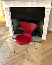 FRITZ HANSEN Design Arne Jacobsen 585 dark red 6 Stk.