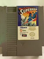 Superman NES game Authentic Original Nintendo. Tested & Working
