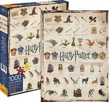 Harry Potter ICONS Images and Logos 1000 Piece Jigsaw Puzzle, NEW SEALED