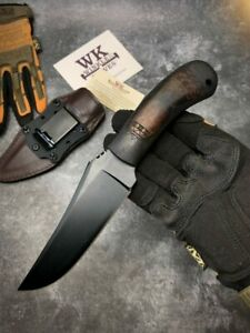 Knife Blade Fixed Hunting Tactical Handle Steel Survival Outdoor Tool