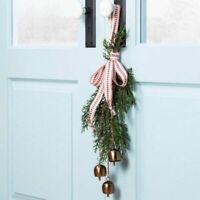 Hearth Hand Magnolia Decorative Bells Metal Copper Hanging Loop Swag Door Chime