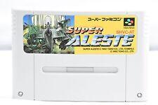 SUPER ALESTE Nintendo Super Famicom Japanese SFC SNES Japan USED