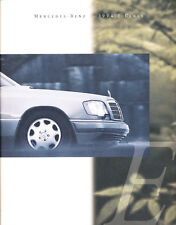 1994 Mercedes Benz E320 E420 E500 E300 E-Class 82-page Sales Brochure Catalog