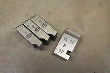 """Alfred Herbert 1/4"""" X 26 TPI BSF Coventry Die cazadores para 1/2"""" cabeza CD359"""