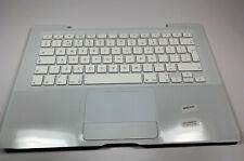 New Apple Genuine Apple MacBook 13' Top case Keyboard + Bezel - White 605-2432