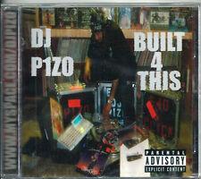 "DJ PIZO - ""BUILT 4 THIS""   (MEGA RARE '03 CALI G-FUNK!!)  (BAND NEW & SEALED!!!)"