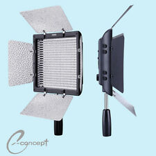 YONGNUO YN600L LED 3200K-5500K Studio Video Film Lighting + AC Power Adapter