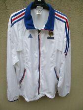 Veste EQUIPE DE FRANCE HOCKEY ADIDAS FFH blanc jacket sport collection 174 M