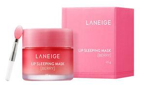 Laneige Lip Mask Moisture Cream 20g berry Korea Cosmetic Lip Care Pink Lips Balm