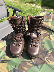 Genuine British Army  Iturri  Brown cold Wet weather Boots Size