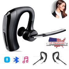 Bluetooth Calling Earphone Wireless Headset Earpiece Earbud For Samsung iPhone