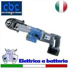 Pressatrice elettrica portatile a batteria con pinze di tipo G Ø 16-20-26 – G...