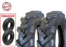 2 PNEUMATICI +CAMERE D'ARIA TRATTORINO 4.00 - 10 GOMME RUOTE COPERTONI MOTOZAPPA