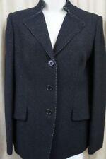 Woolen Solid Regular Size Suits & Blazers for Women