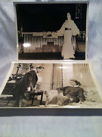 2 Collectible Vintage 8x10 Movie Photos Made In USA Circa 1930s Unknown Titles