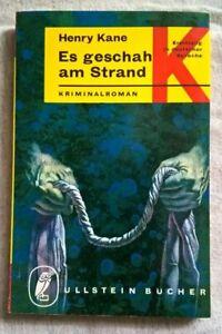 Henry Kane - Es geschah am Strand - Ullstein 975