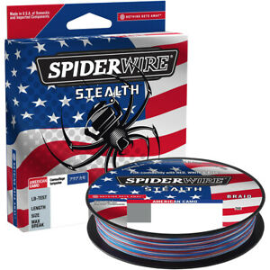 SpiderWire Stealth 164 Yard Fishing Line - American Camo