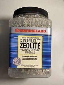 50 OZ Marineland White Diamond Media Clinoptilolite Zeolite: Free Shipping