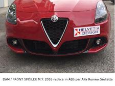 DAM Anteriore / Front SPOILER MY 2016/VELOCE replica in ABS Alfa Romeo Giulietta