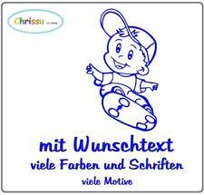 Babyaufkleber Kinderaufkleber Auto Aufkleber Baby Kinder Name Wunschtext 1/3