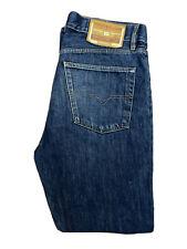 Original Diesel Kratt 792 Regular Str Blue Marbled Denim Jeans W34 L32 ES 7445