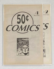 50 Cent Comics #1-2 complete series - Lee Falk's the phantom reprints 1994