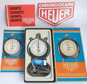 Heuer Trackmaster Stopwatc Champion Spark Plug Stop Watch Timer