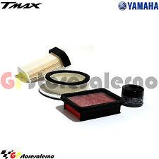 KIT TAGLIANDO 3 FILTRI ARIA + FILTRO OLIO PER YAMAHA 500 T-MAX T MAX 2011