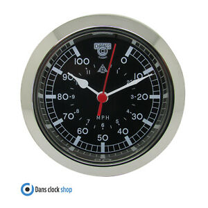 Nuevo Premium Quartz 65mm Clock Bisel Insert For 58mm Hole - MPH Car Design