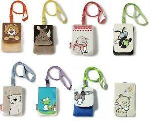 Nici Plush Mobile Phone Case Pouch Cover, NICI Wild Friends Animal Phone Covers