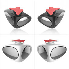 Car Blind Spot Mirror Wide Angle Mirror 360 Rotation Adjustable Convex Rear View