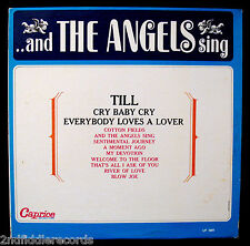 THE ANGELS-AND THE ANGELS SING-Mega Rare Near Mint Album-CAPRICE #LP-1001-Mono
