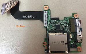 LENOVO X200 MODULO USB+AUDIO BOARD+CABLE 48.47Q02.011 50.47Q09.001
