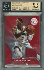 Kyrie Irving 2012-13 Totally Certified Red Materials #30 BGS 9.5 (10 9 9.5 10)