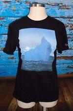 RVCA Brian Vu Artist Network Black T Shirt Men's M Special Edition Iceberg ANP