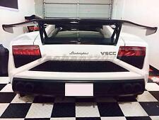 Dry Carbon DM Rear Spoiler Fit For 08-12 Lamborghini Gallardo LP550 LP560 LP570