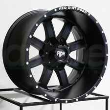 One 20x12 RDR RD01 RD1 8x170 -44 Black Wheels Rims