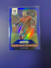 2016 Panini Prizm UEFA Euro #97 Cristiano Ronaldo Blue Prizm /249 PORTUGAL