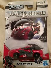 2011 Hasbro Speed Stars Transformers Dark Of The Moon Leadfoot.. non-transform..