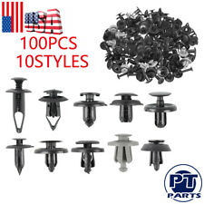 100x Bumper Fender Screw Rivet Fastener Clip For Mercedes-Benz Mini Peugeot Seat