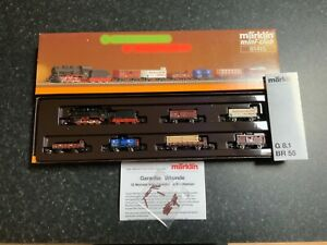 Marklin spur z scale/gauge. DRG Freight Train Set. Rare.