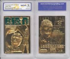 LARRY BIRD 23KT Gold Card Sculpted 1997 Boston Celtics Graded GEM MINT 10 *BOGO*