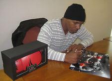 Stunning Original Signed Mike Tyson print
