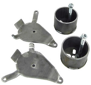 Air Bag Brackets Chevy Front Suspension S10 GMC S15 Air Ride Cups Lowered Bagged